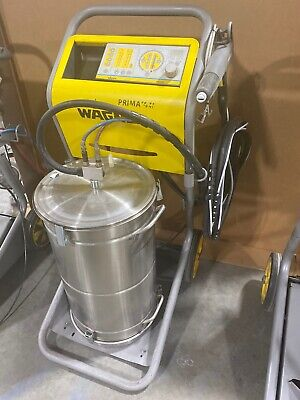Wagner Epg Prima Sprint Manual Powder Coating System W Hopper Cart - Tested