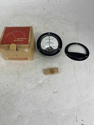 Vintage Honeywell Marion Null Indicator Panel Meter Hs-3 New Old Stock