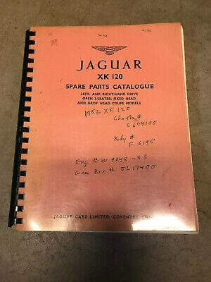 Jaguar XK 120 Spare Parts Catalog