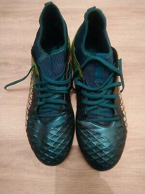 Puma Future FG football boots teal blue UK 11 Used