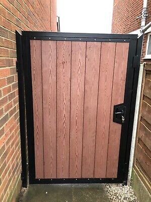 Wrought Iron And Composite Gates / Steel Framed  side Gate