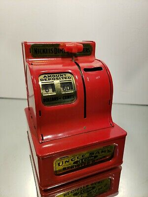 UNCLE SAM's RED REGISTER BANK. Made in Japan  for sale  Shipping to Canada
