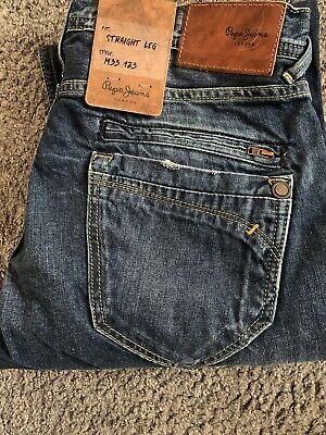 Mens pepe jeans Hoxton mens 30 Waist 34 Leg Brand New