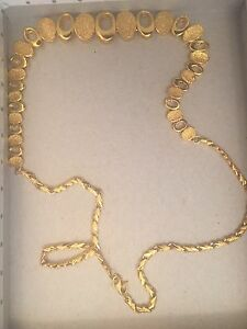 Selling 22ct necklace weighs 22.5g Wanneroo Wanneroo Area Preview
