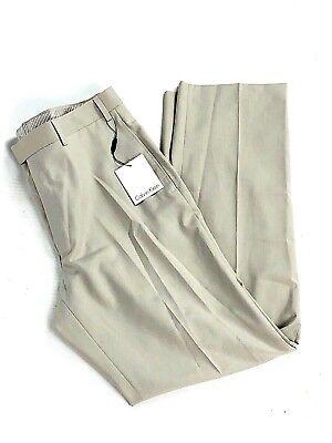 d72ba20dd8a Calvin Klein Men's Dress Pants 36 Polyester Rayon Bottoms NEW (D)
