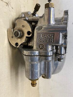 Harley Carburetor S&S Super Shorty E 388 CHOPPER SPORTSTER IRONHEAD