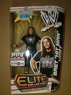 WWE BRET HITMAN HART TRU EXCLUSIVE BEST OF PAY PER VIEW FIGURE