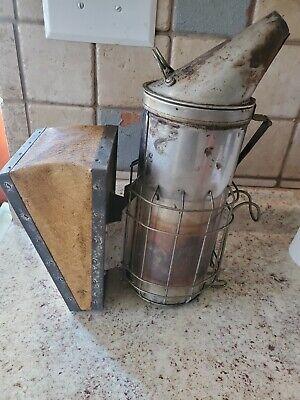 Bee Smoker - American Bee Supplybeekeeper Vintage Stainless Steel Beekeep...