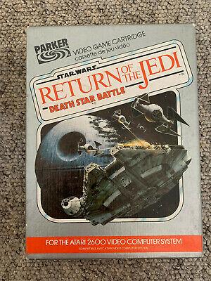 Atari 2600 Game - Star Wars Return of The Jedi - Boxed - VGC
