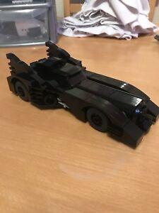 Custom built lego 1989 Batmobile