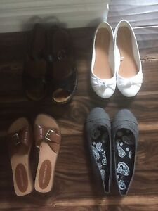 Size 9/10 sandals and flats