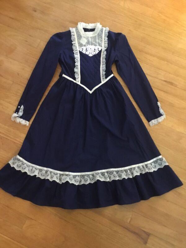 Vintage Gunne Sax Jeune Filles Girls Dress 10