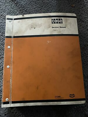 Case 580 Ck Tractor Loader Backhoe Forklift Service Repair Manual 580ck 1980