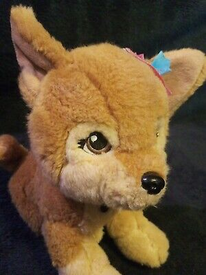 Barbie Puppy Tan Stuffed Plush Mattel Applause Lacey Russ Berrie Collectible Dog