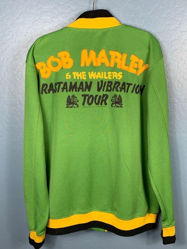 BOB MARLEY T-Shirt Rastaman Vibration Tour 1976 All Sizes NEW OFFICIAL Wailers