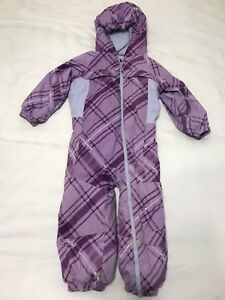 Columbia Toddler Girls 1-piece Snowsuit size 3T.