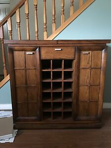 Solid wood Wine cabinet!!