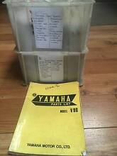YAMAHA SPARE PARTS BOOKS St Agnes Tea Tree Gully Area Preview