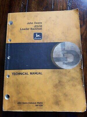 John Deere 510 Manual
