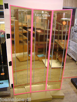 Pink Kate Spade Retail Shelving Store Display