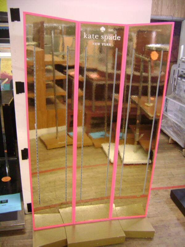 PINK KATE SPADE RETAIL SHELVING STORE DISPLAY