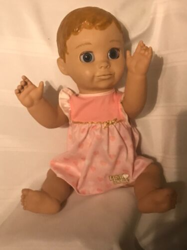 """Luvabella Interactive Baby Doll Spin Master LTD 17"""" Tested & Working"""