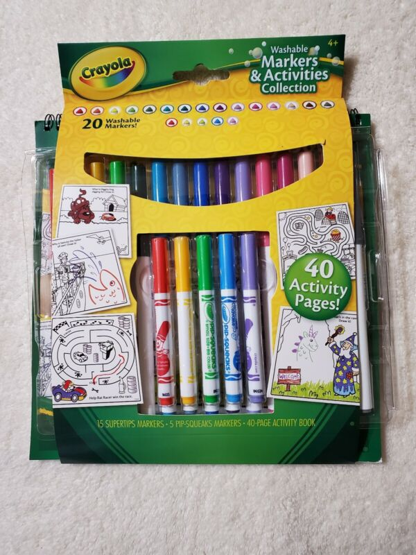 Crayola Washable Markers and Activities Collection