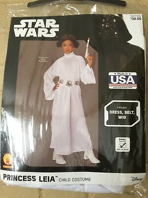 Star Wars Child's Deluxe Princess Leia Costume, Small 3-4 Yrs