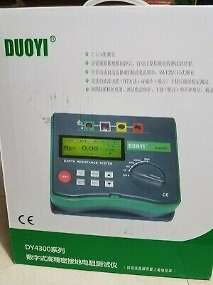 Dy4300 Duoyi Digital Earth Tester Ground Resistance Tester Meter.