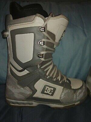 DC Snowboarding Boots Men park All Season Size 8 Dc Park Snowboard Boots
