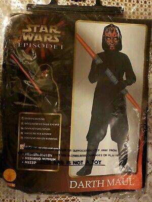 Darth Maul Childrens Costume (Darth Maul Costume Kids Star Wars Halloween Fancy Dress No)