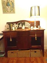 Antique Art Deco blackwood sideboard / buffet / credenza / Tv unit Pascoe Vale South Moreland Area Preview