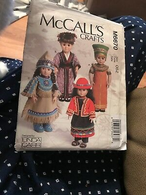 McCalls M6670 Best Pattern For World Costumes Ever Dolls
