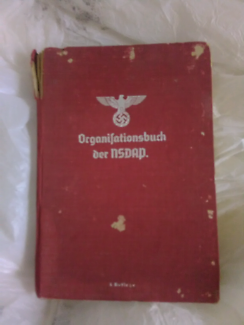 Extra RARE 1940 NAZI War book (last ed vol6) WWII collectable.