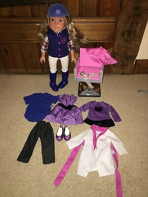 Design a Friend Doll In Horse Riding Outfit Plus Outfits Inc Salon Chair