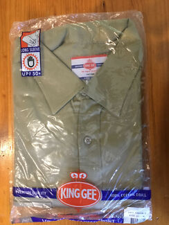 KING GEE LONG SLEEVED XL WORKSHIRT