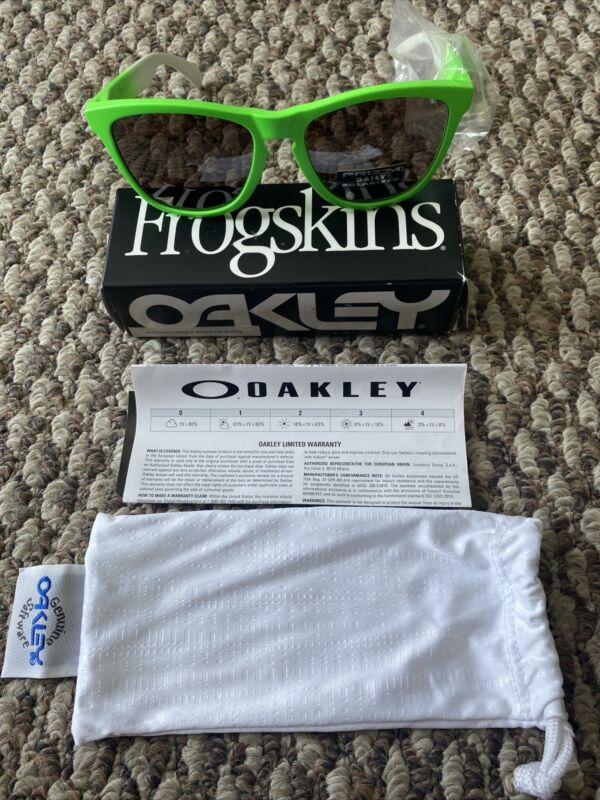 Oakley Frogskins Prizm Polarized Green Fade Edition - Sunglasses - OO9013-99