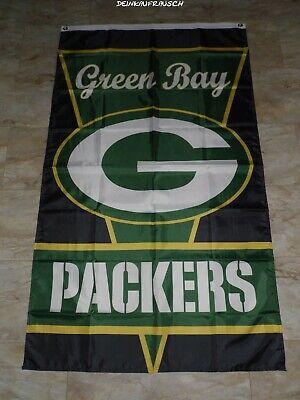 Green Bay Packers NFL Fahne / Flagge - Football - ca. 90x150cm  - #4- NEU