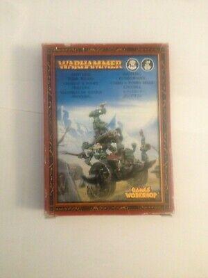 Games Workshop Warhammer Snotling Pump Wagon Carro Pompa degli Sgorbi OOP Metal segunda mano  Embacar hacia Spain