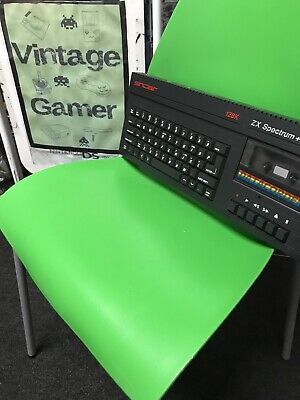 128k ZX Spectrum + 2 UNIT / COMPUTER ONLY Nice Condition FULLY TESTED + WARRANTY