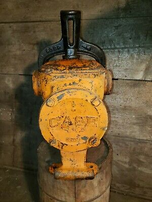 Case Hand Transfer Water Pump Hit Miss Steam Engine . Rare.