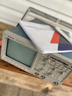 Tektronix Tds 360 2 Channel Digital Oscilloscope For Repair Or Fix Read Desc