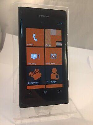 Nokia Lumia 800 Black EE Network Smartphone  na sprzedaż  Wysyłka do Poland