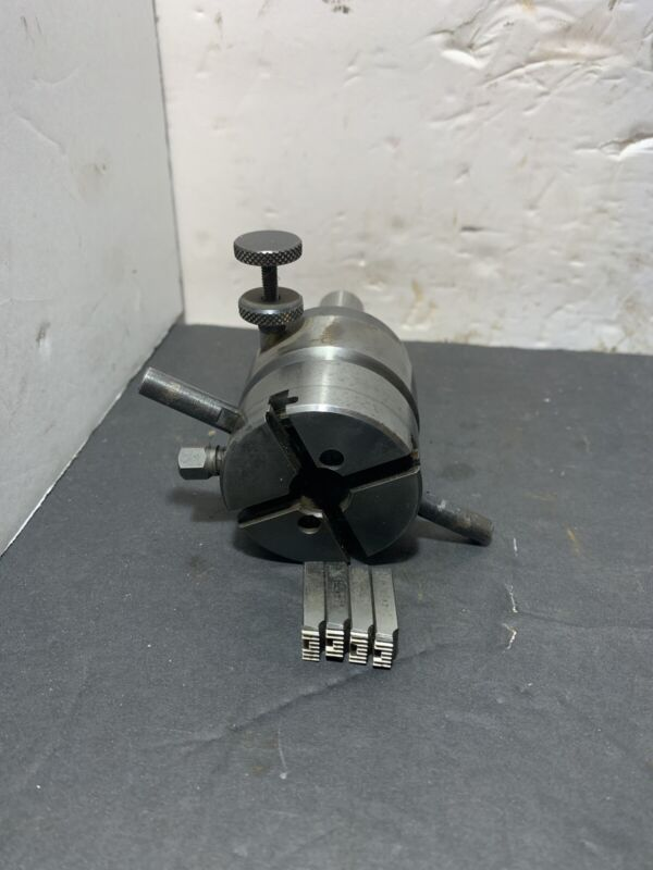 """5/16D Geometric Style Thread Chaser Die Head Machinist W/chasers Used 5/8"""" shank"""