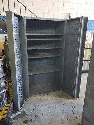 Durham Heavy Duty Storage Cabinet 14 Ga. Steel 72 H X 36 W X 25 D