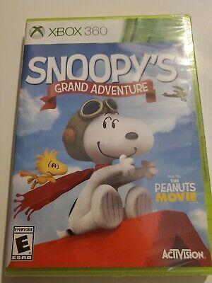 Peanuts Movie: Snoopy's Grand Adventure (Microsoft Xbox 360, 2015) comprar usado  Enviando para Brazil