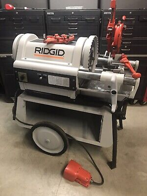 Ridgid 1224 Pipe Threader Threading Machine 300 535 700141greenleerigid