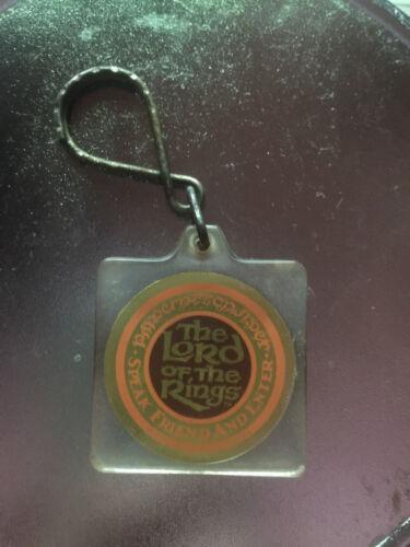 LOTR Speak Friend and Enter Vintage Keychain