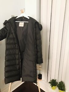 Second Hand Moncler Long Down Coat