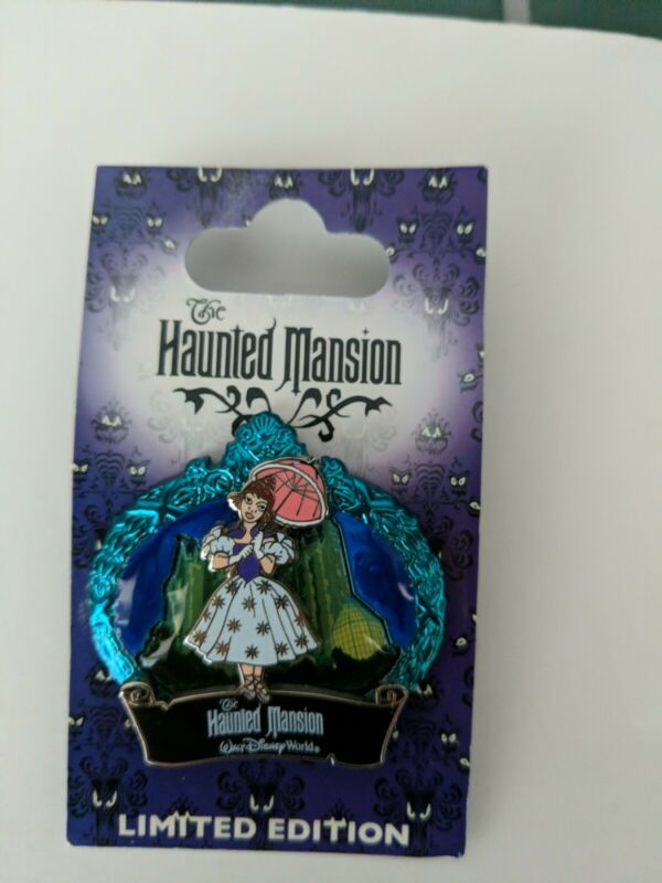 Disney Pin - WDW - The Haunted Mansion® - Parasol Lady - LE2000